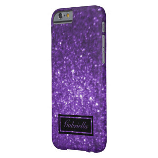 Add Your Name: Purple Glimmer Case