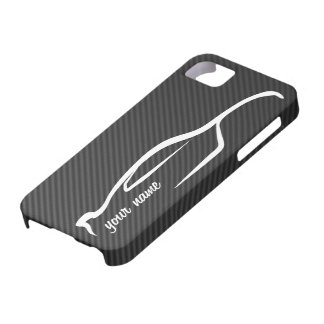 """""""add your name"""" Skyline GT-R White Silhouette Logo iPhone 5 Cover"""