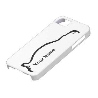 """""""add your name"""" STI Impreza Black Silhouette iPhone 5 Case"""