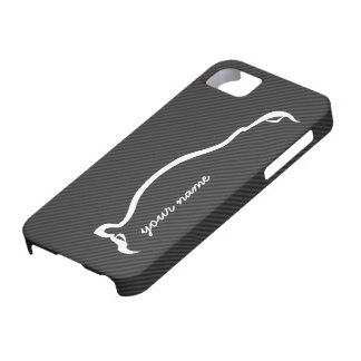 add your name STI White Silhouette iPhone 5 Cover
