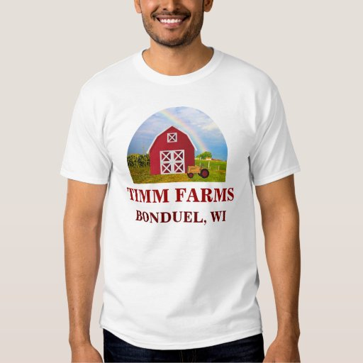 Add Your Name to Red Barn with Blue Sky Tee