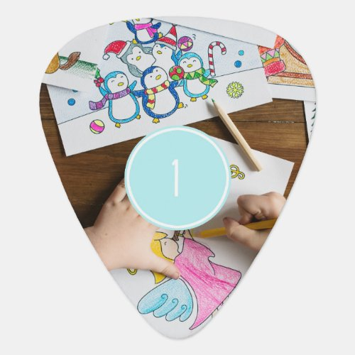 add Your Own 2 Photos Customisable guitar pick