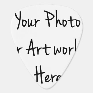 Add Your Own Art, Photo, Text Guitar Pick
