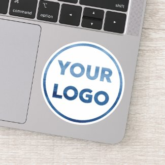 Add Your Own Business Company Logo Sticker