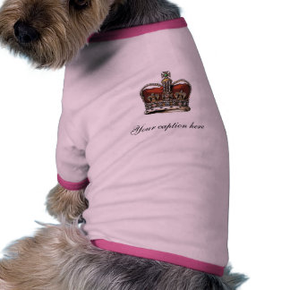 Add your own caption doggie tee
