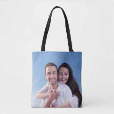 Add Your Own Custom Photo Tote Bag at Zazzle