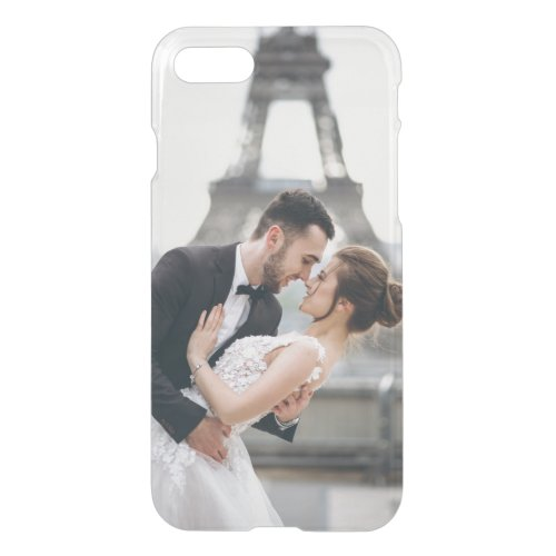 Add Your Own Custom Photo  Wedding iPhone SE87 Case