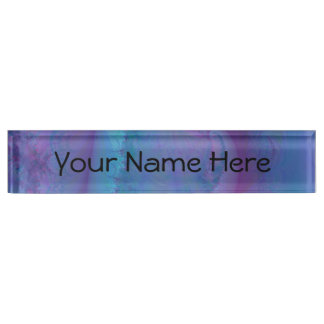 Add your own design name plate