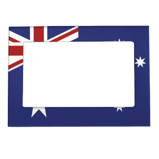 Add Your Own Flag Magnetic Frame