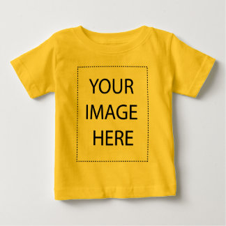 Add Your Own Image and Text Baby T-Shirt