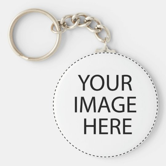 Add Your Own Image and Text Keychain