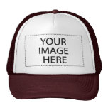 Add Your Own Image and Text Trucker Hats