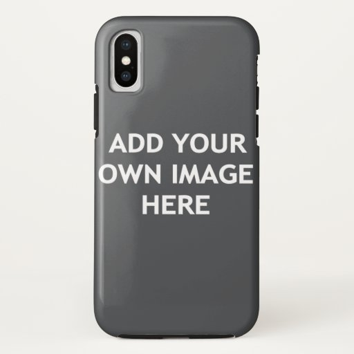 Add your own image iPhone XS case