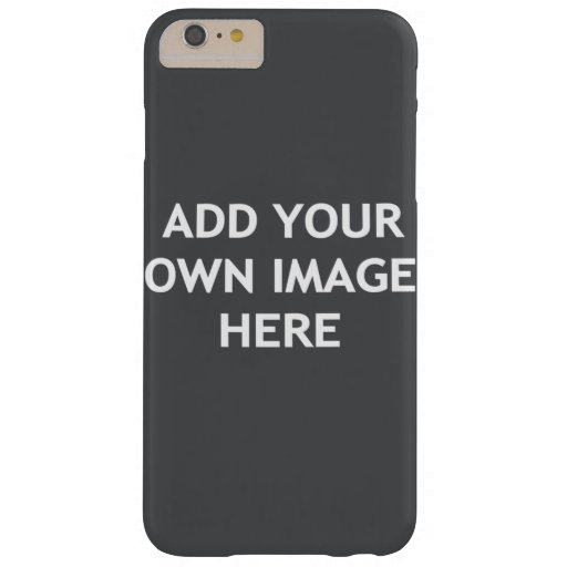 Add your own image barely there iPhone 6 plus case