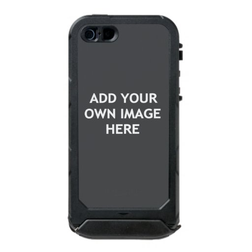 Add your own image waterproof case for iPhone SE/5/5s