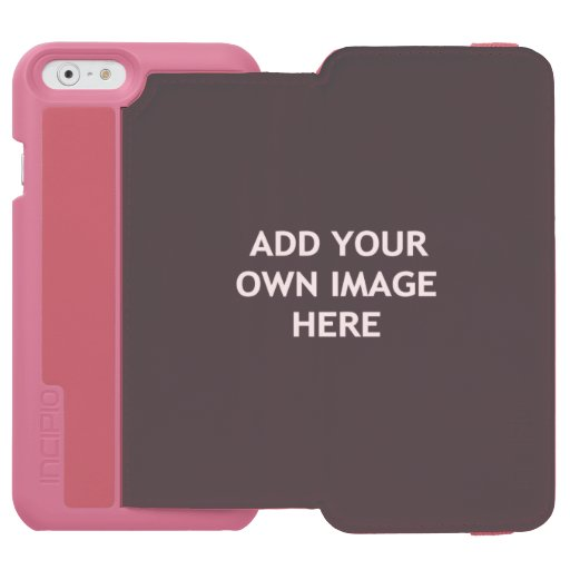 Add your own image iPhone 6/6s wallet case