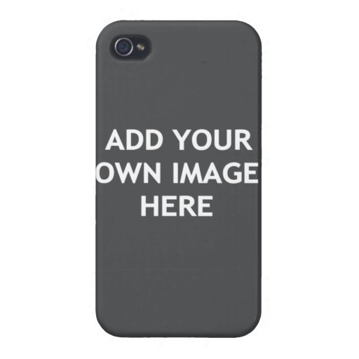 Add your own image case for iPhone 4