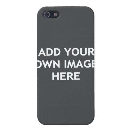 Add your own image case for iPhone SE/5/5s