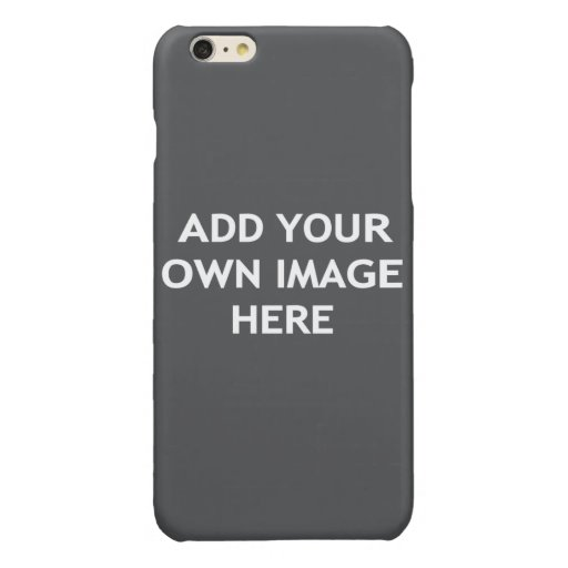 Add your own image glossy iPhone 6 plus case