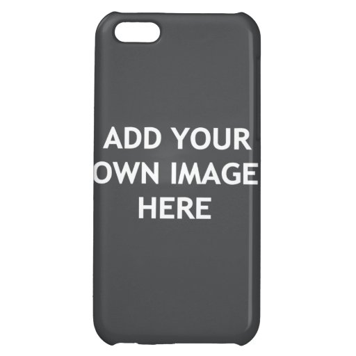 Add your own image case for iPhone 5C