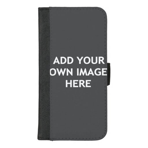Add your own image iPhone 8/7 plus wallet case