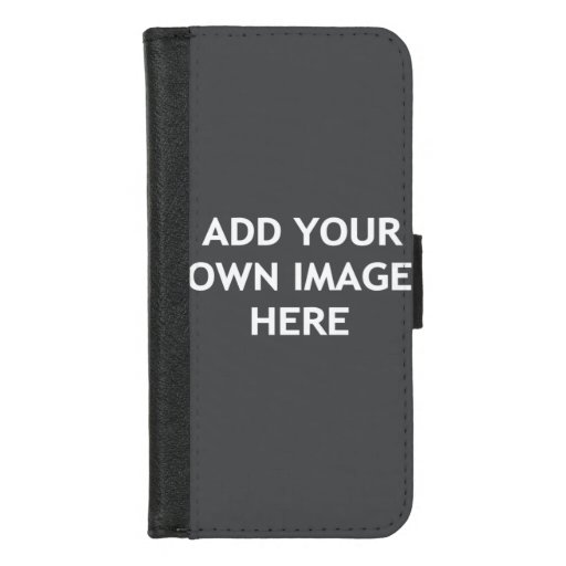 Add your own image iPhone 8/7 wallet case