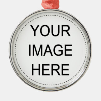 Add Your Own Image Metal Ornament