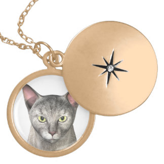 Add Your Own Image Round Locket Necklace