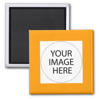 Add Your Own Image Or Text 2 Inch Square Magnet