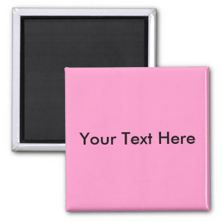Add Your Own Image Or Text - Customized 2 Inch Square Magnet
