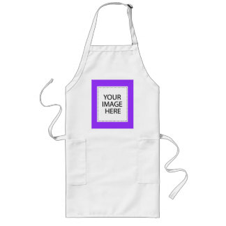 Add Your Own Image Or Text Long Apron