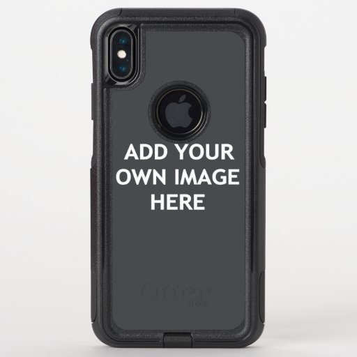 Add your own image OtterBox commuter iPhone XS max case