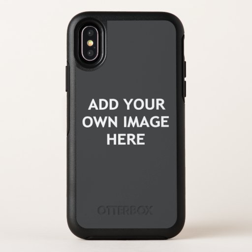Add your own image OtterBox symmetry iPhone x case