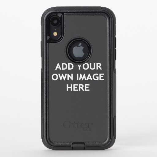 Add your own image OtterBox commuter iPhone XR case