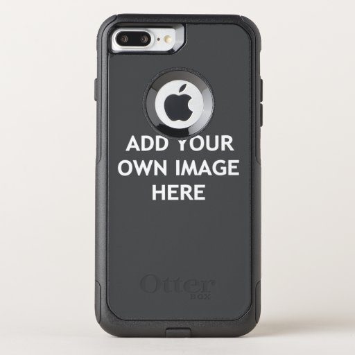 Add your own image OtterBox commuter iPhone 8 plus/7 plus case