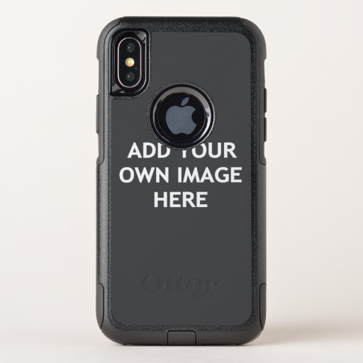 Add your own image OtterBox commuter iPhone x case