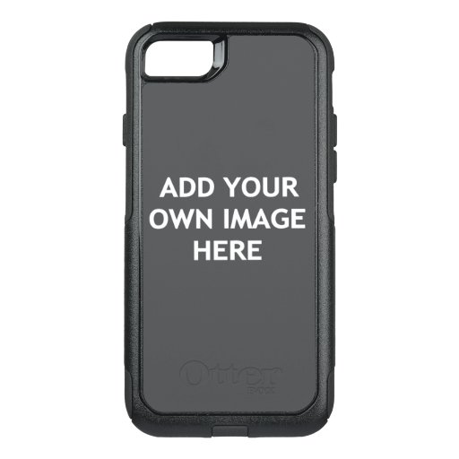 Add your own image OtterBox commuter iPhone SE/8/7 case