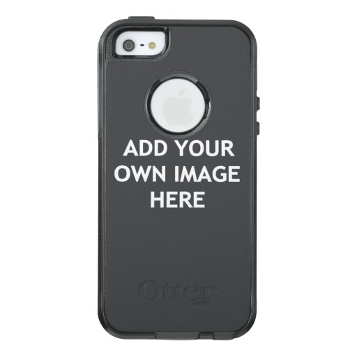 Add your own image OtterBox iPhone 5/5s/SE case