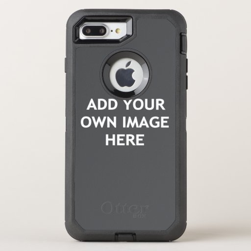 Add your own image OtterBox defender iPhone 8 plus/7 plus case