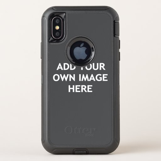 Add your own image OtterBox defender iPhone XS case
