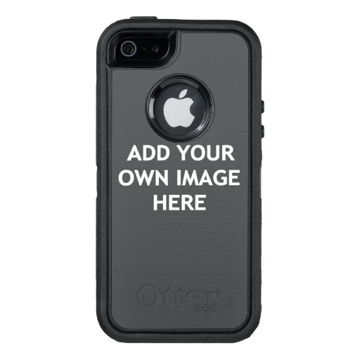 Add your own image OtterBox defender iPhone case