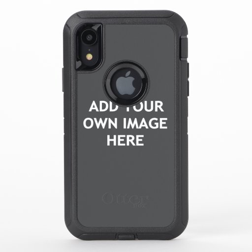 Add your own image OtterBox defender iPhone XR case