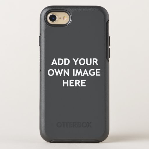 Add Your Own image OtterBox Symmetry iPhone SE/8/7 Case