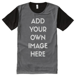Add Your Own Image/Photo All-Over Print T-shirt
