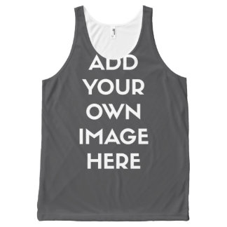 Add Your Own Image/Photo All-Over Print Tank Top