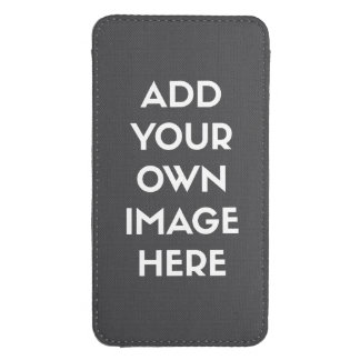 Add Your Own Image/Photo Galaxy S4 Pouch