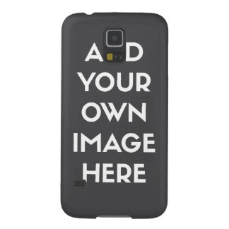 Add Your own Image/Photo Galaxy S5 Cases