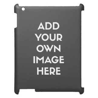 Add Your Own Image/Photo iPad Cases