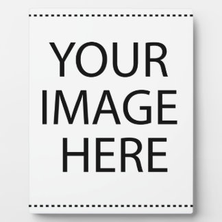 Add your own image plaque