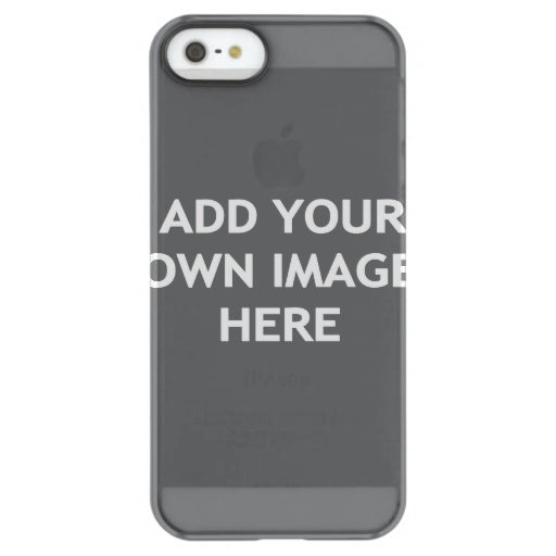Add your own image permafrost iPhone SE/5/5s case